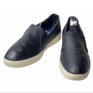 Cole Haan 9.5 Black Nubuck Slip-On Sneakers Shoe